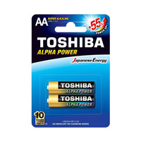 Toshiba Alpha Power Alkaline AA 2 Batteries