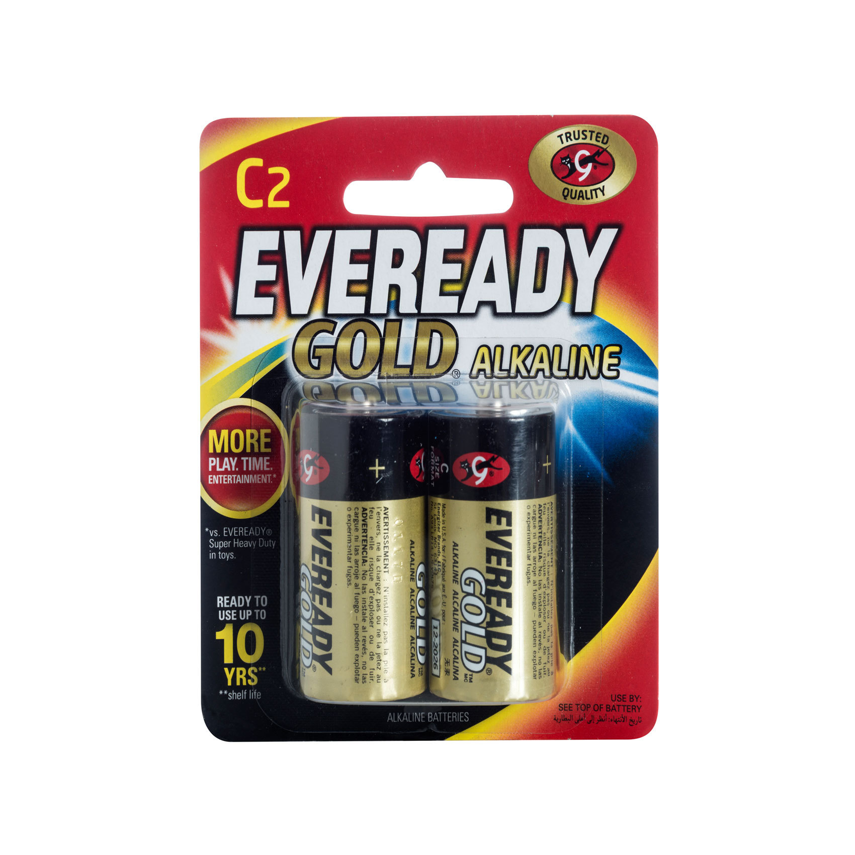 EVEREADY BATTERY CX2 ALKALINE