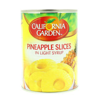 California Garden Pineapple Slices in Light Syrup 565g