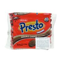 Jack n' Jill Presto Creams Double Choco Sandwich Cookies 30g x10
