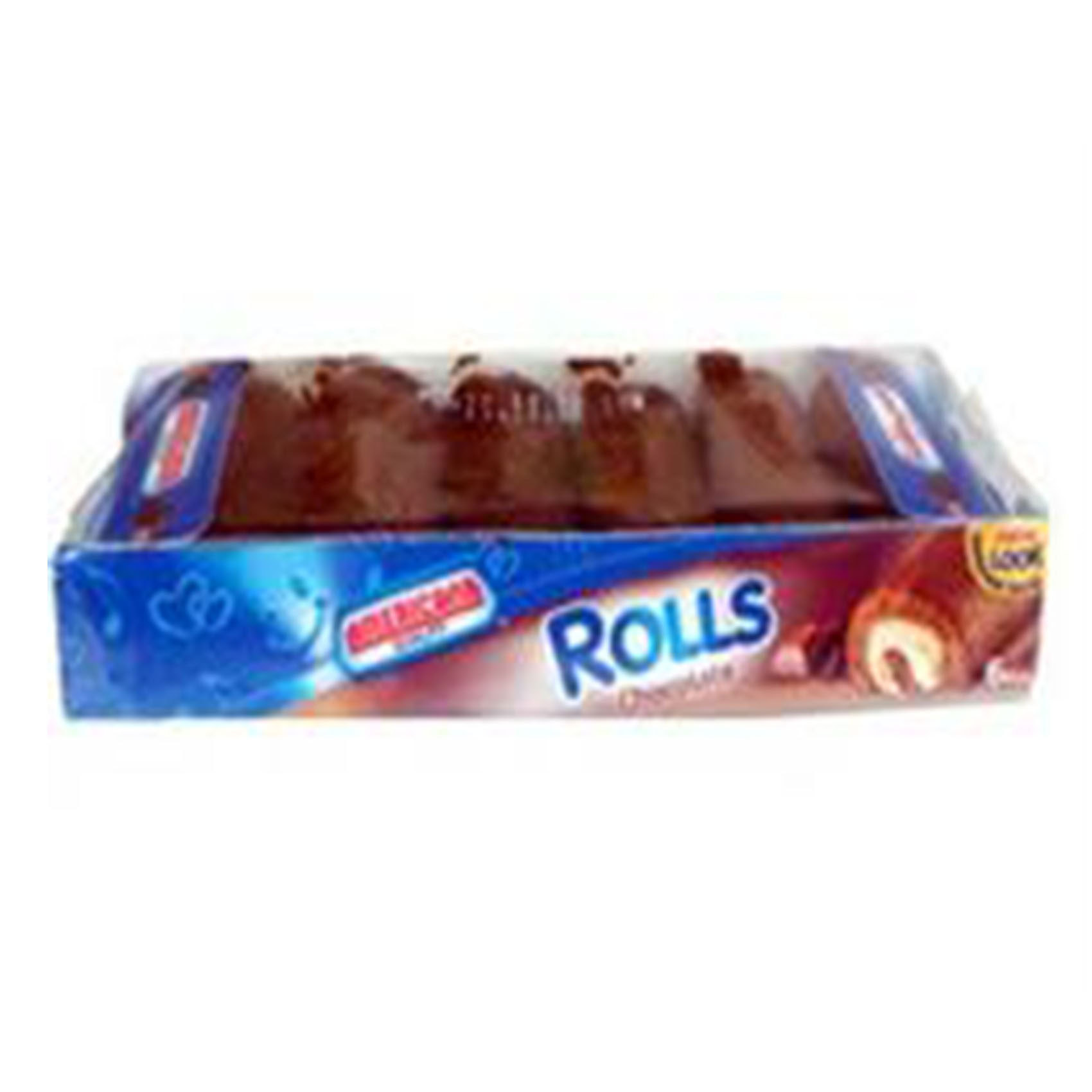 AMERICANA MINI ROLL CHOC 120G
