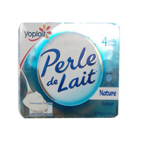 Yoplait Perle De Lait Plain 125gx4