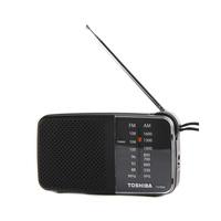 راديو توشيبا TX-PR20 محمول ايه إم/إف إم لون أسود