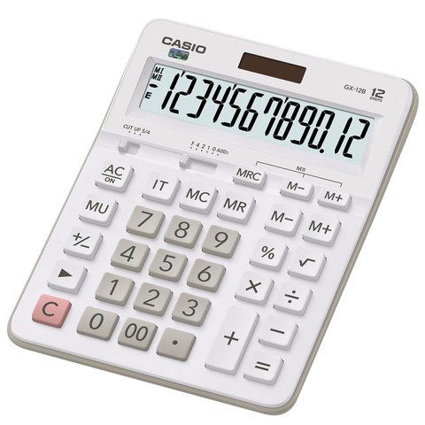 Casio-Desk-Calculator-Gx-12B