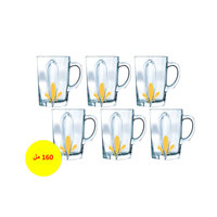 Luminarc Flame Tea Mug 160 Ml 6 Pieces