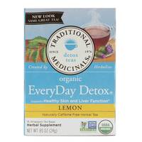 Traditional Medicinals Everyday Detox Tea Lemon 24g
