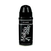 Malizia Deodorant For Men Uomo Silver150ML +50ML Free