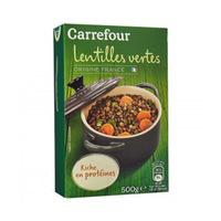 Carrefour Lentil Green France 500GR