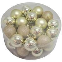 Balls Set 32 Pcs 6Cm Gold