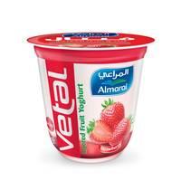 المراعي زبادي فيتال بالفراولة 140  جرام