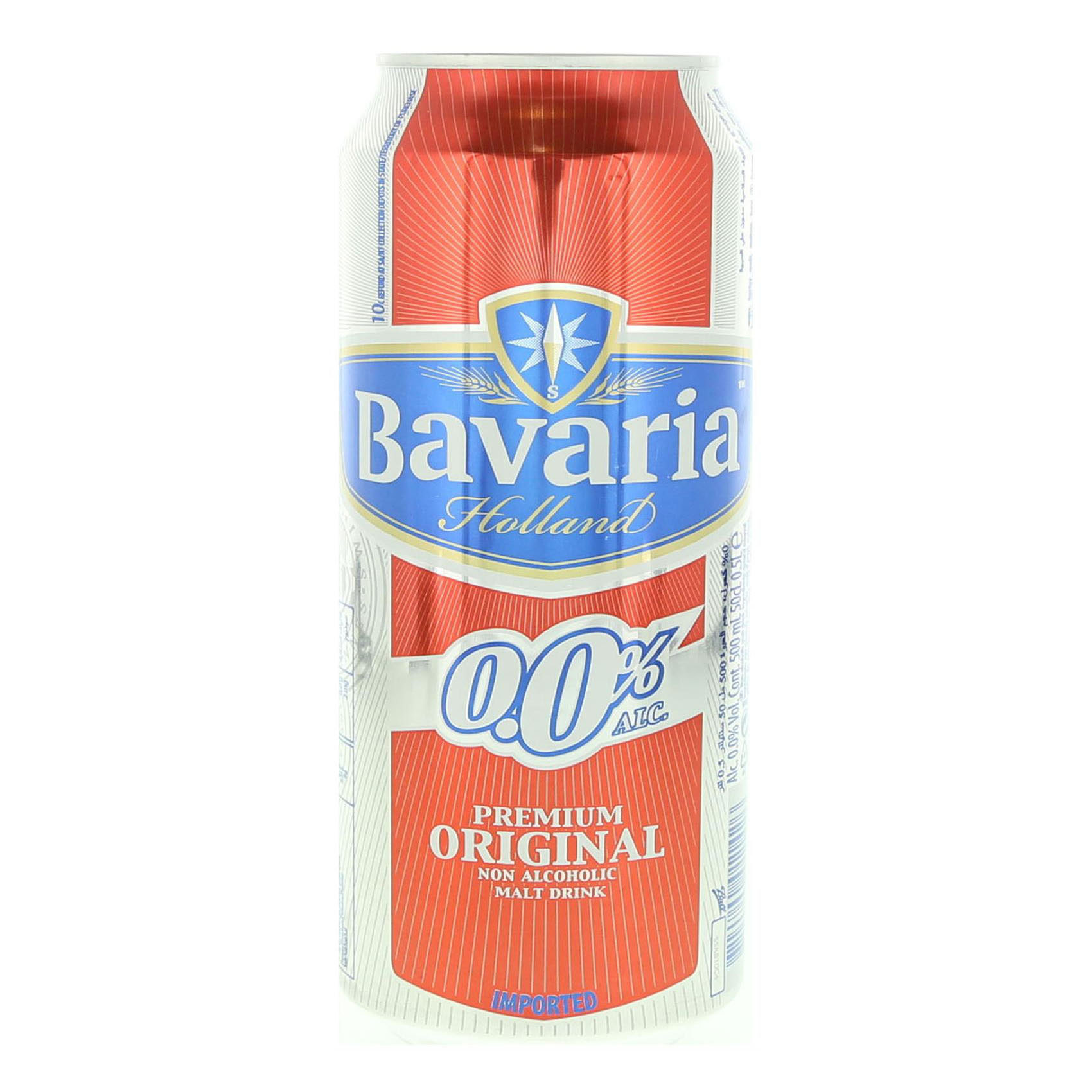 BAVARIA N/ALCO BEER 500ML