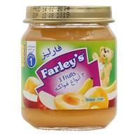 Farley's Strained 3 Fruits Baby Food Jar 120g