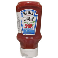 Heinz 50% Less Sugar & Salt Tomato Ketchup 400ml