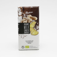 ميبونا شوكولاته بالحليب بالزنجبيل عضوية 100 جرام