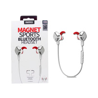 Remax Stereo Bluetooth Headset Magnet S2 White