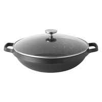 Covered chinese wok 32cm GEM
