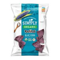 Tostitos Simply Organic Blue Corn Tortilla Chips 30g