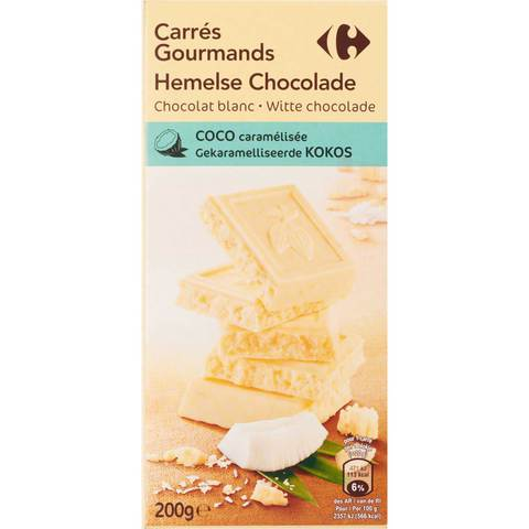 Carrefour-White-Choco-With-Coconut-200g