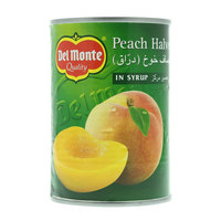 Del Monte Peach Halves in Syrup 425g