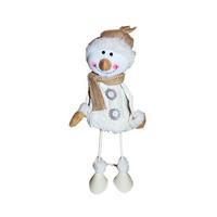 Standing Snowman White 35CM