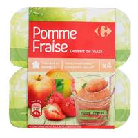 Carrefour Strawberry Compote 100gx4