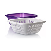 Dunya Clover Strainer With Bowl 6L