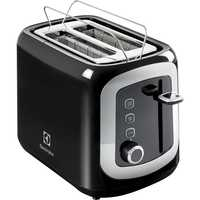Electrolux Toaster EAT3300 Two Slices Black And Stainless Steel