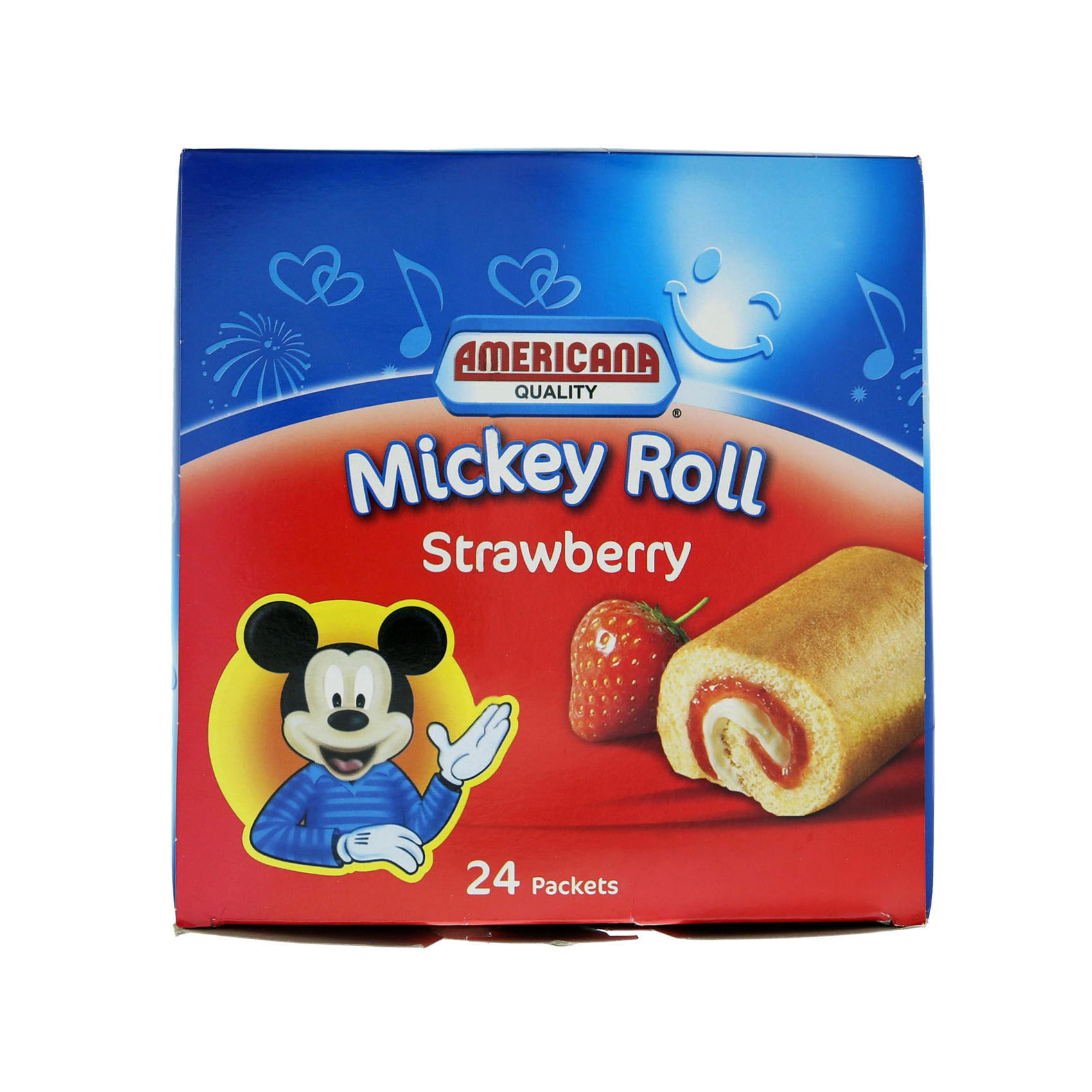 AMERICANA MICKEY ROLL STRAW 20GX24