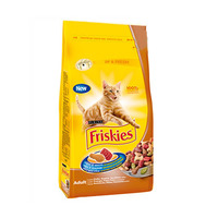 Purina Friskies Chicken & Vegetables For Adult Cats 1.7KG