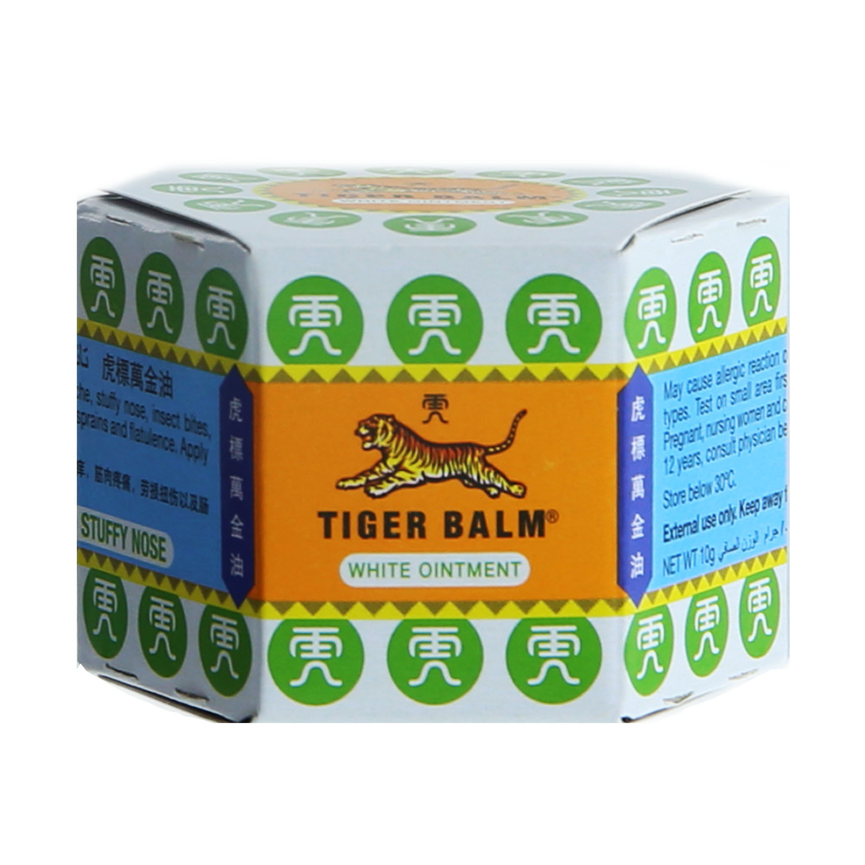 TIGER BALM RUB WHITE 10GM