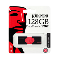 Kingston Data Traveler 106 USB 3.0 128GB Flash Drive