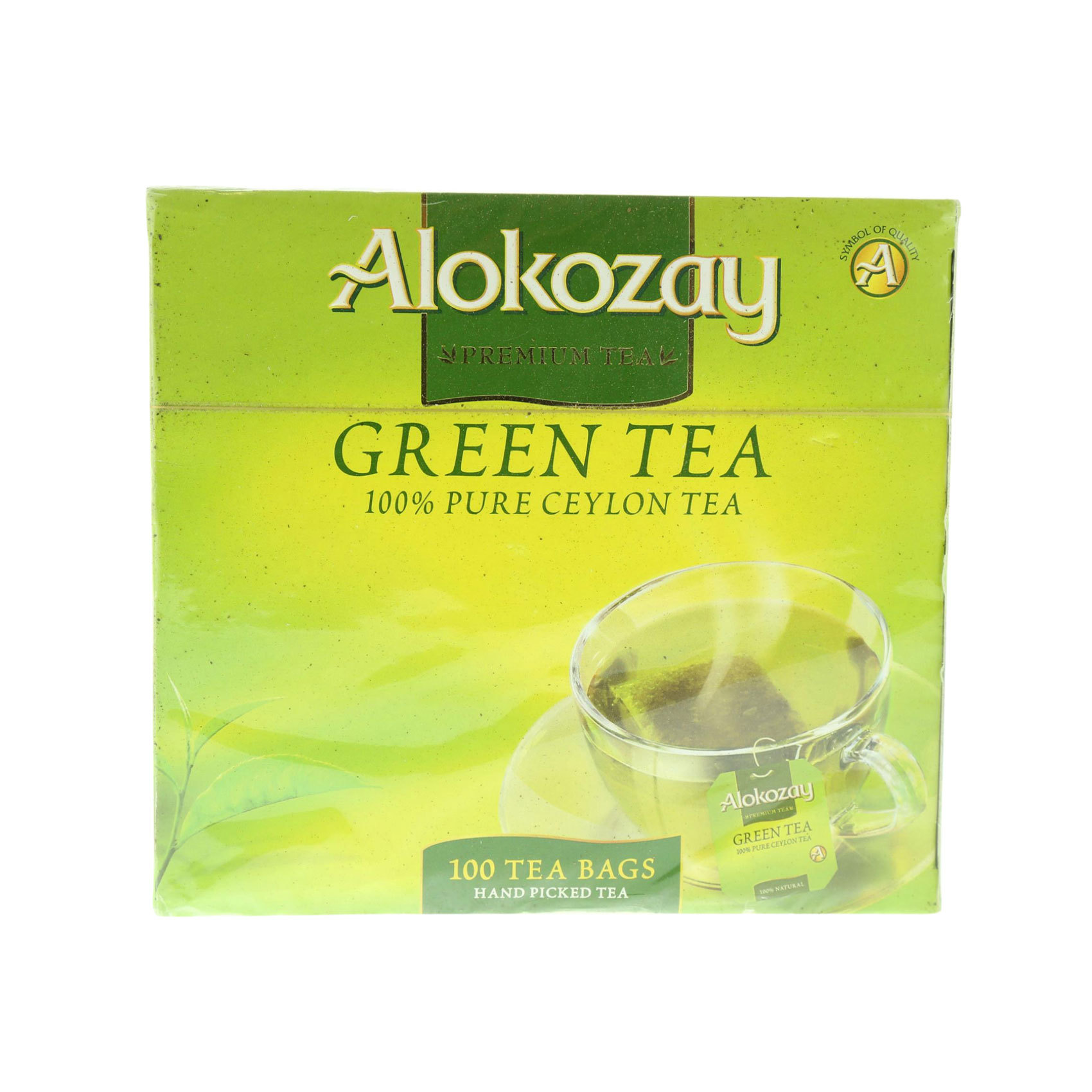 ALOKOZAY GREEN TEA 100'S 200G