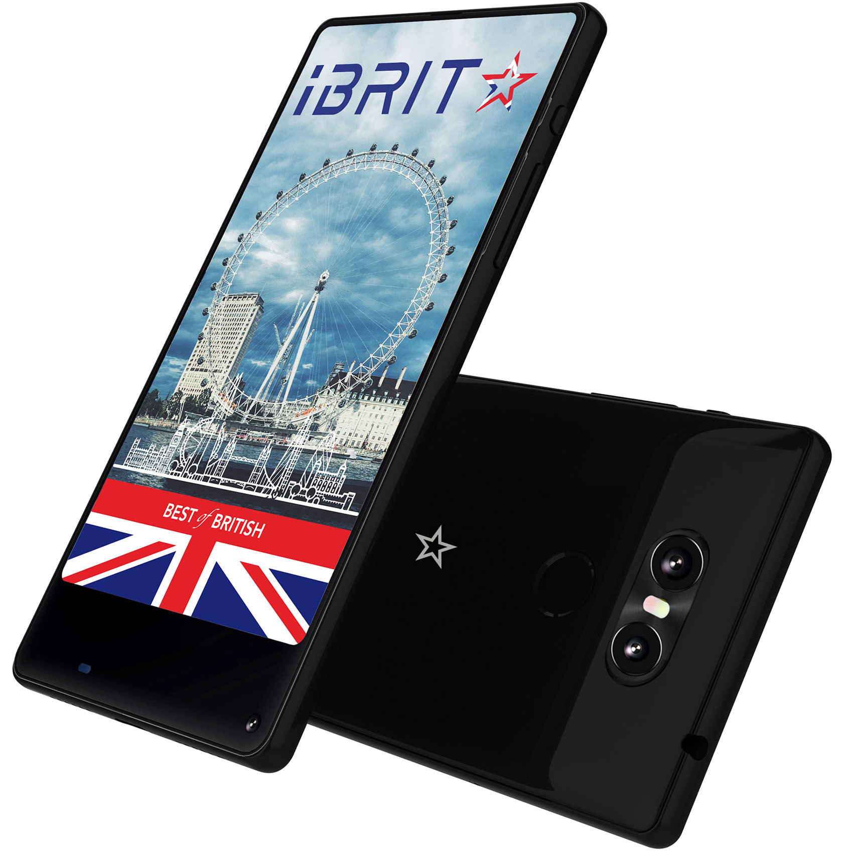 Buy Ibrit Horizon Dual Sim 4g 32gb Black Online In Uae