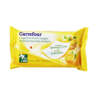 Carrefour Multi-Use Wipes Citrus 40 Sheets