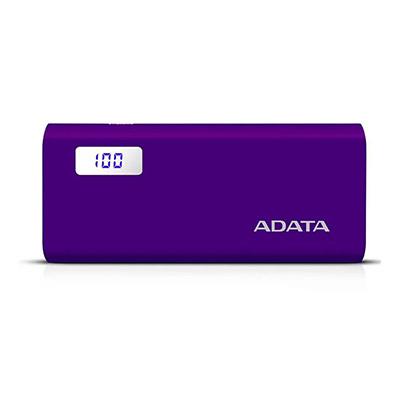 6cb9f3a1b7 Buy ADATA Power Bank Dual USB 12500mAh Purple Online - Shop power ...