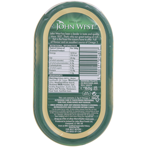 John-West-Herring-Fillets-In-Mustard-And-Dill-Sauce-160g