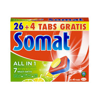 Somat Tabs Lemon & Lime 30 Pieces