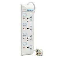 Philips Extension Socket 4Way 4Mtr