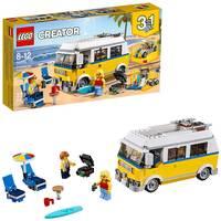 Lego Creator 3in1 Sunshine Surfer Van Building Kit