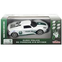 Majorette Dubai Rc Police Porsche Spyder 1:16