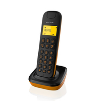 Alcatel D135 Corded Phone Black/Orange