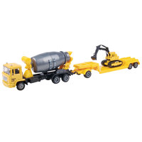 Spees Track Emergency Car With trailer 1:60 ( Assorted)