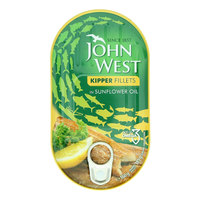 John West Kipper Fillets in Sunflower Oil 160g