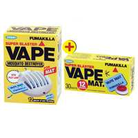 Vape Mats Cordless Device + Vape Mat Box 30 Mats