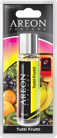 Areon Air Freshener Tutti Frutti Perfume 35 Ml