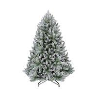Carrefour Premium Flock Green White Tree N31 180CM