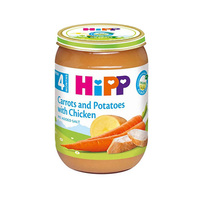Hipp Carrots And Potatoes With Chicken From 4 Months 190GR