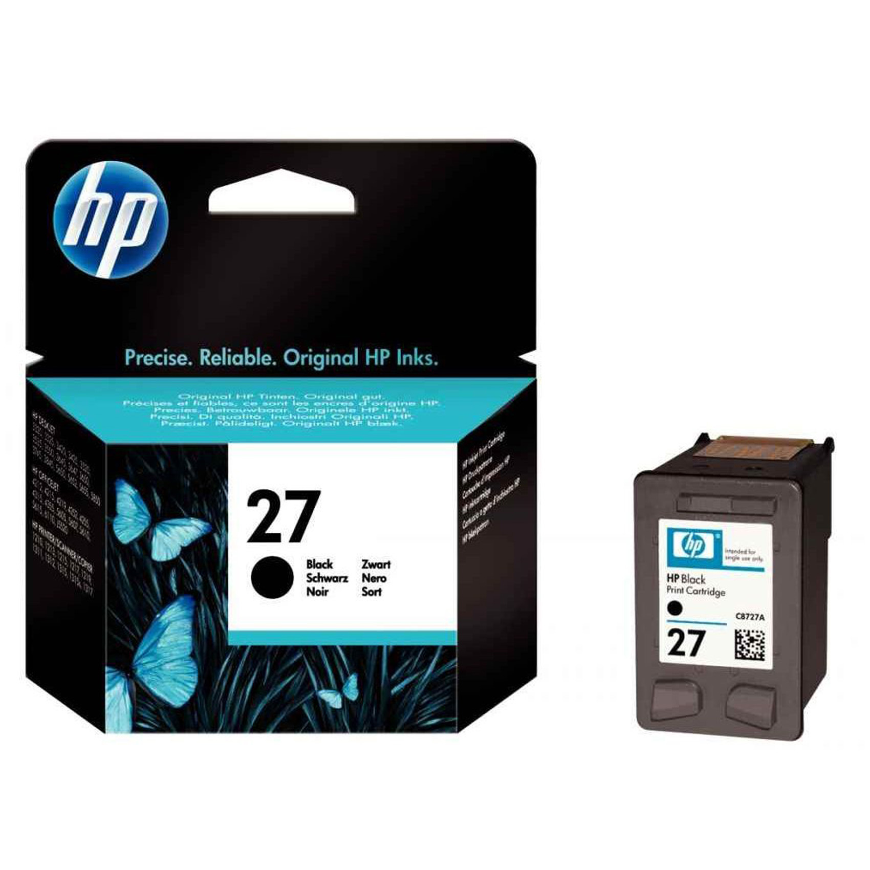 HP CART 27 BLACK INKJET