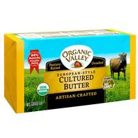 Organic Valley Unsalted Butter 227g