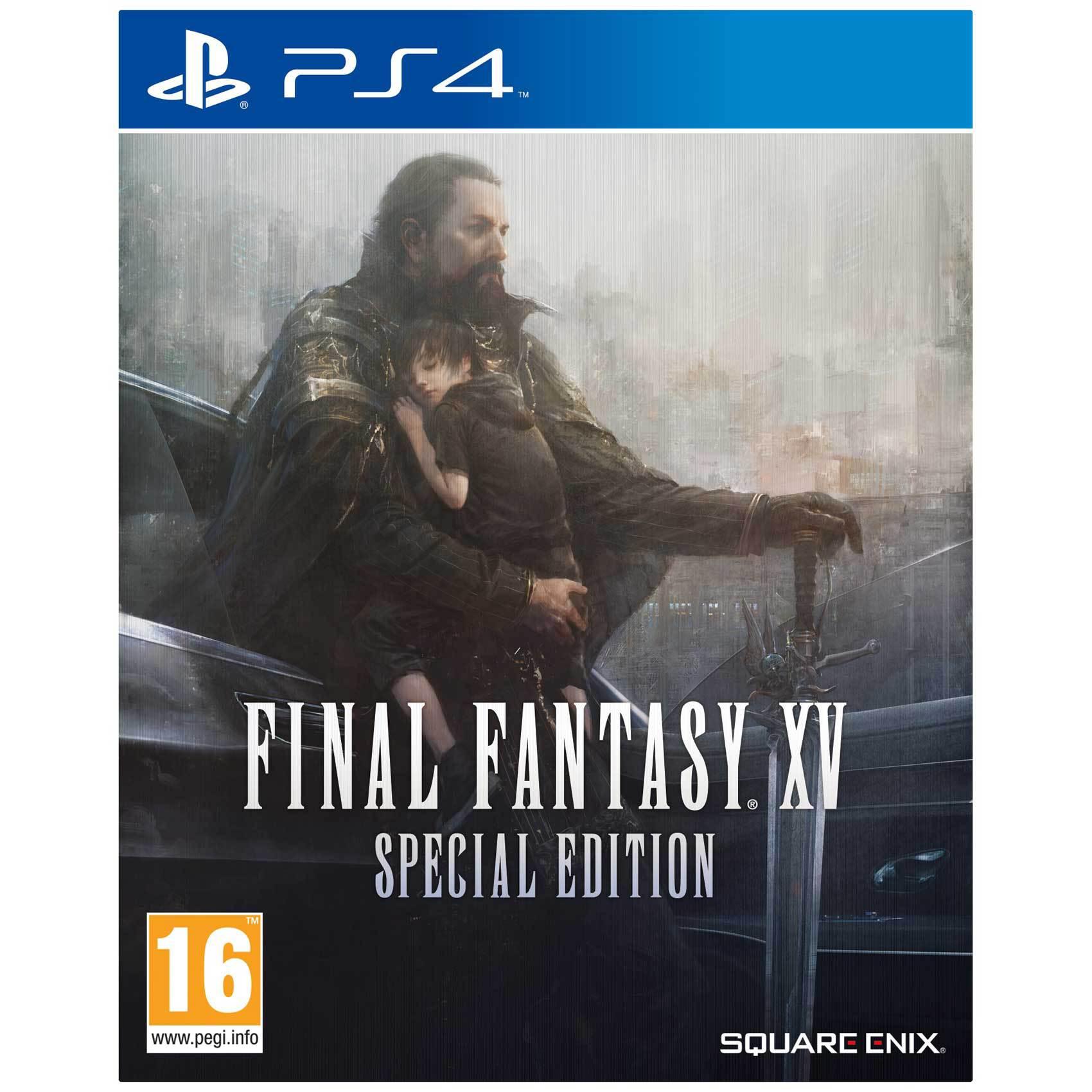 SONY PS4 FINAL FANTASY XV STEEL ED